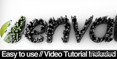 Videohive Cubed Columns Revealer 515473