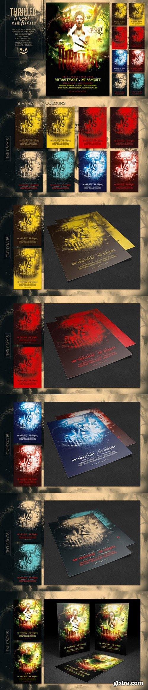 CM - Thriller Night Flyer Template 972723