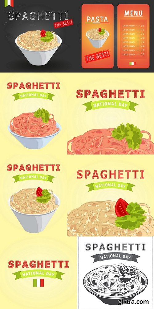 The best spagetti menu