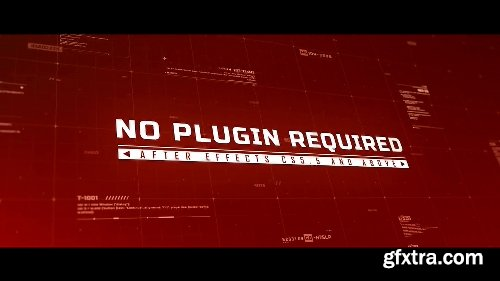 Videohive Hud Titles 17121099