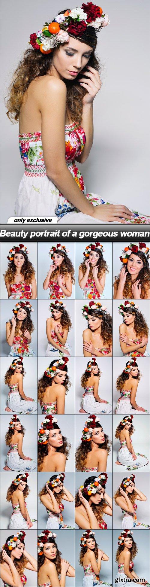 Beauty portrait of a gorgeous woman - 25 UHQ JPEG