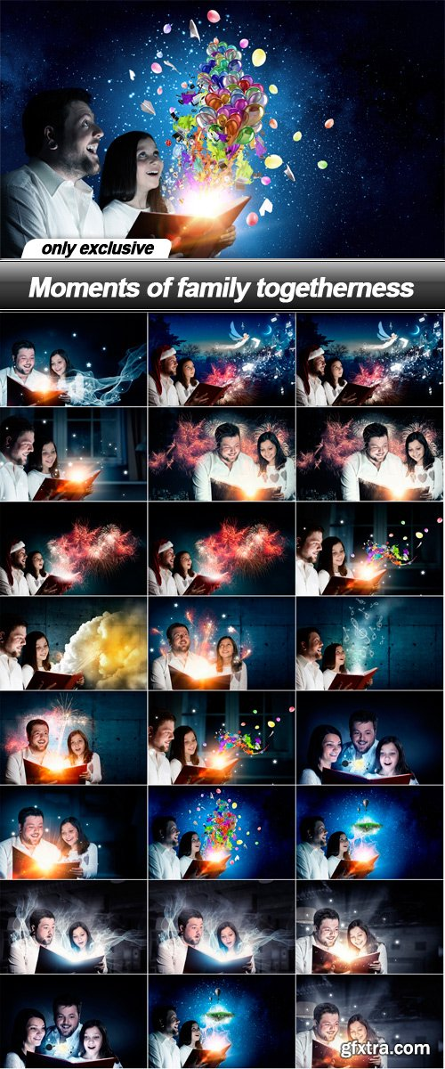 Moments of family togetherness - 25 UHQ JPEG