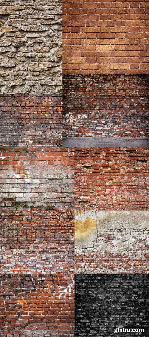 Old Brick Wall - Background Texture