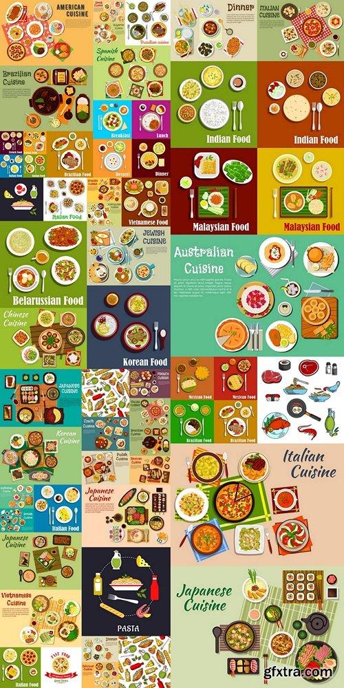 World food vector 2