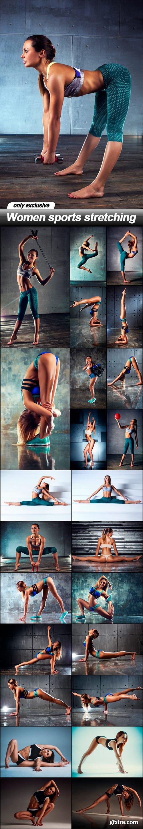 Women sports stretching - 25 UHQ JPEG