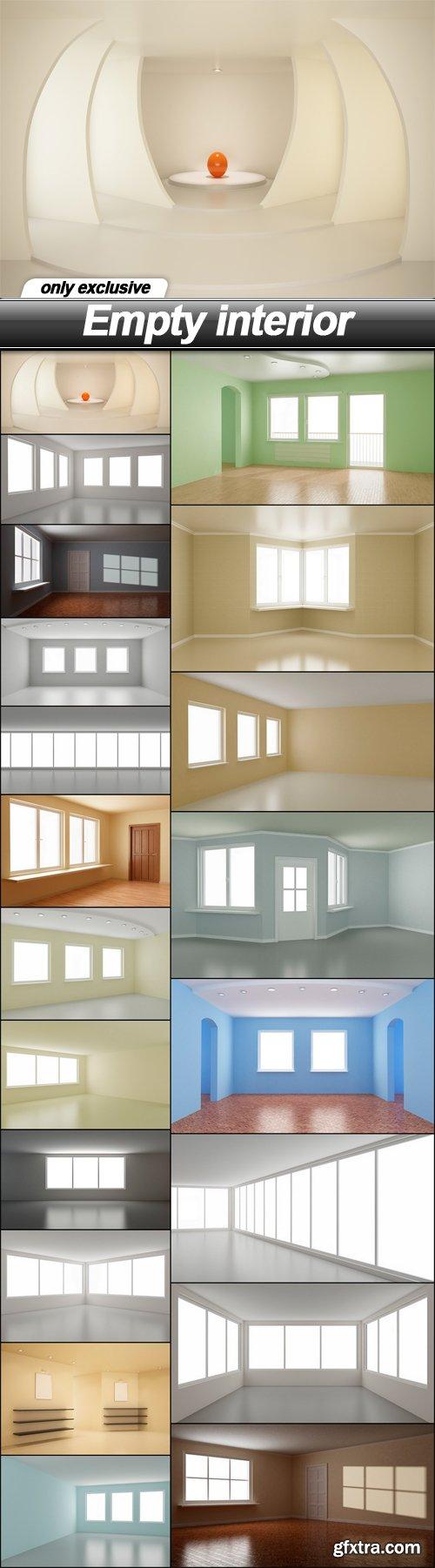 Empty interior - 20 UHQ JPEG