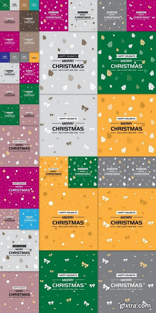 Happy Holiday, Merry Christmas and Happy New Year Greeting Card 2
