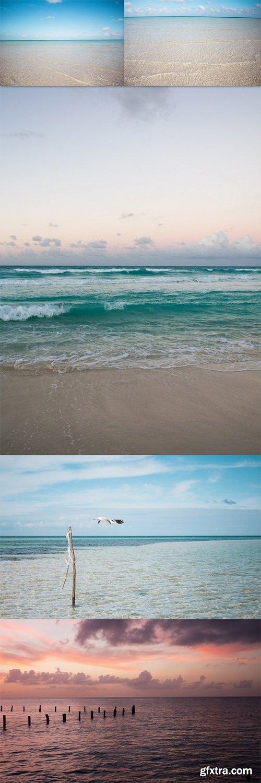 Pristine beach of Cayo coco