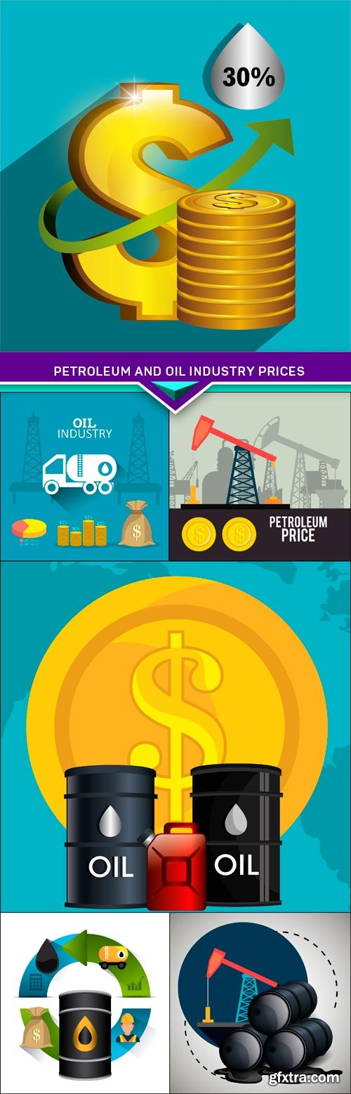Petroleum and oil industry prices 6X EPS