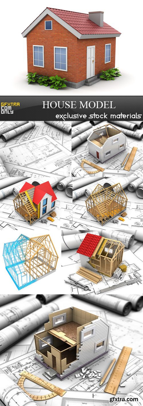 House Model - 8 UHQ JPEG