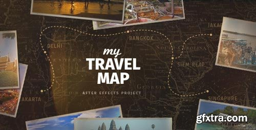Videohive - My Travel Map - 18262707