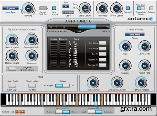 Antares Auto-Tune v8.1.1 WIN VST-AudioUTOPiA