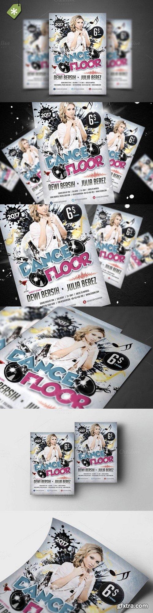 CM - Dance Floor Flyer Template 924157