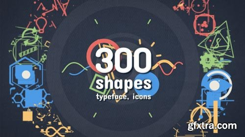 Videohive - Shape Elements - Motion Graphics Pack - 18202019
