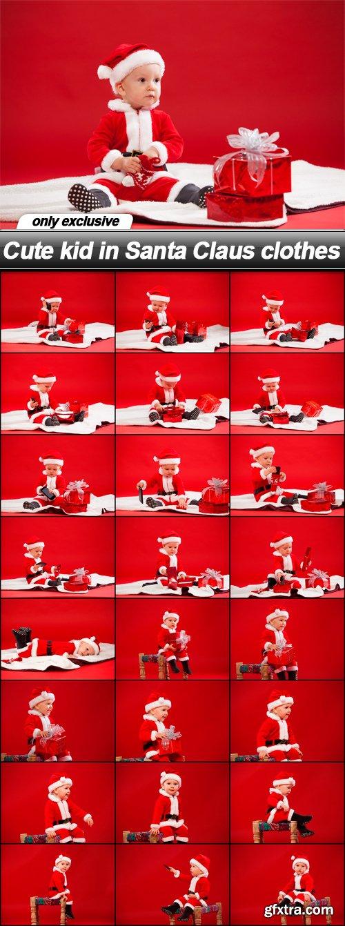Cute kid in Santa Claus clothes - 25 UHQ JPEG