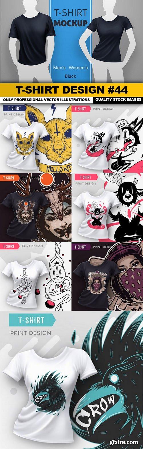 T-Shirt Design #44 - 8xEPS