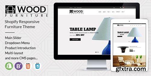 ThemeForest Parallax Shopify Theme - Wood Furniture Decoration 12770960