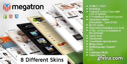 ThemeForest Megatron - Shopify Multi-Purpose Theme 11868753