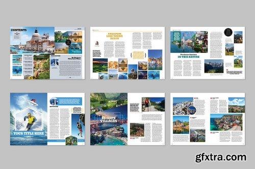 CreativeMarket Travel Magazine 955250