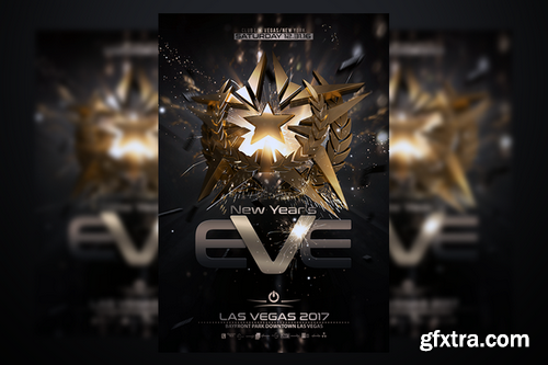 CM - New Years Eve Flyer 961243