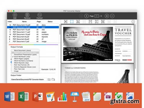 Lighten PDF Converter Master 5.0.0 (Mac OS X)