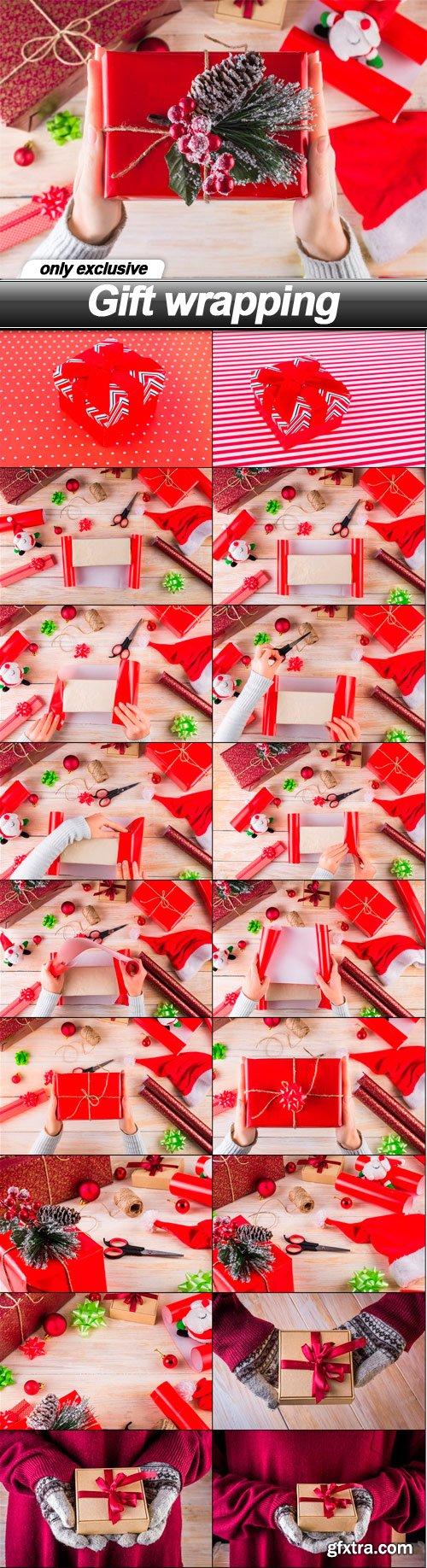 Gift wrapping - 19 UHQ JPEG