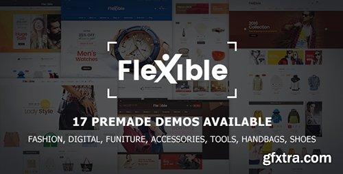 ThemeForest - Flexible v1.0.0 - Multi-Store Responsive Magento 2 Theme   17 Premade Demos Available - 18476046