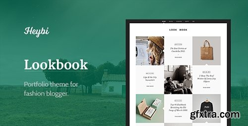 ThemeForest - Lookbook v1.0 - Portfolio Theme for Fashion Blogger - 11945345