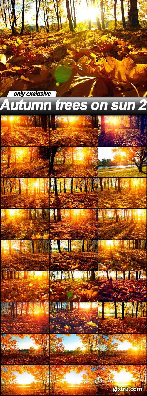 Autumn trees on sun 2 - 27 UHQ JPEG
