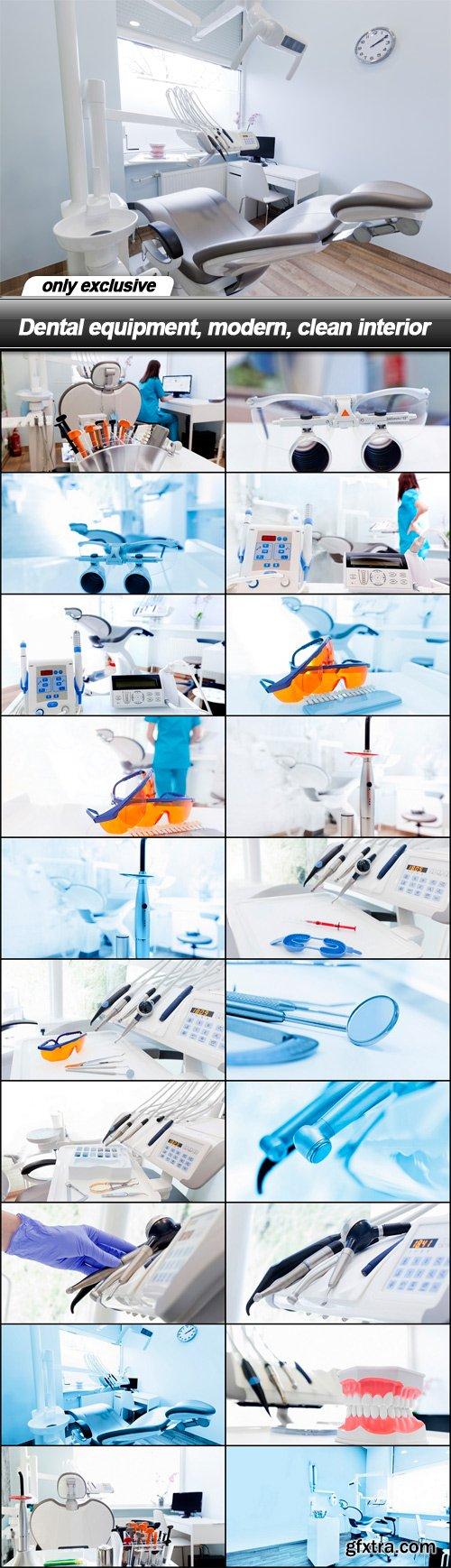 Dental equipment, modern, clean interior - 21 UHQ JPEG