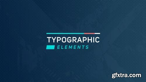 Videohive - Typographic Elements 2 - 18501450