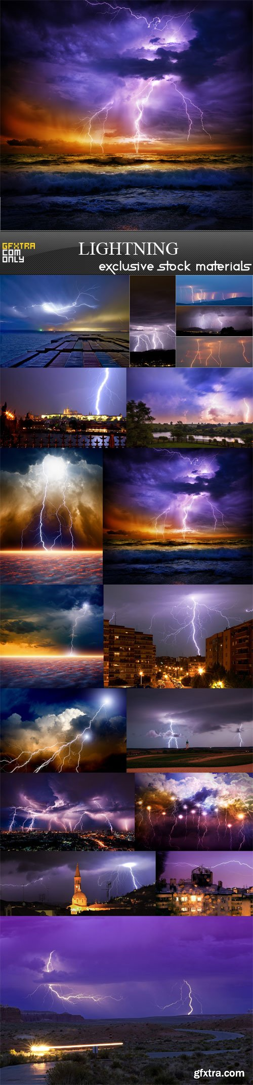 Lightning, 15 UHQ JPEG
