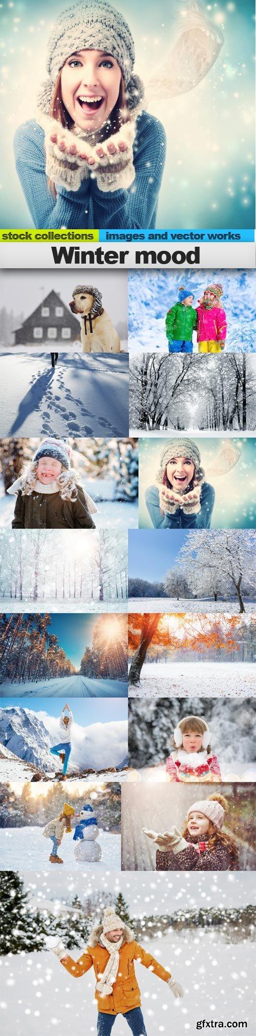 Winter mood, 15 x UHQ JPEG