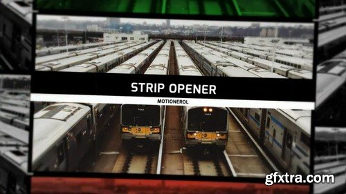 Strip Slideshow / Opener - After Effects Templates
