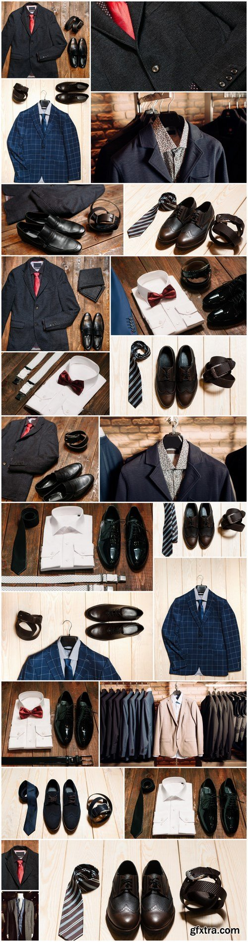 Men\'s Clothing and Accessories 2 - 23xUHQ JPEG Photo Stock