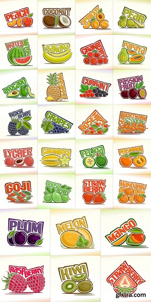 Vector illustration on the theme food & drink 3