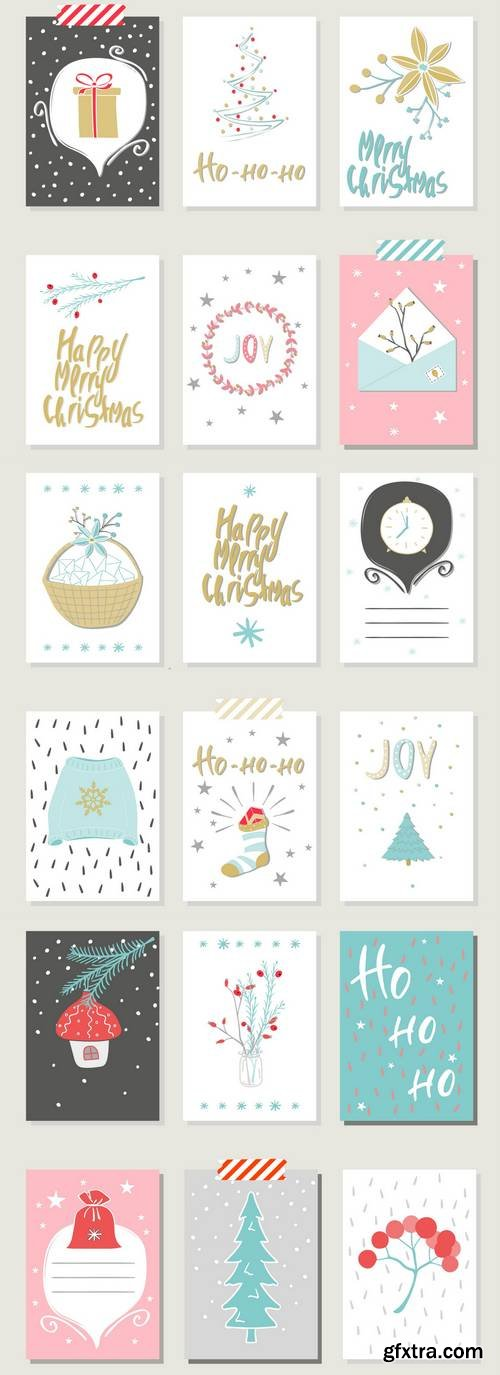 Collection of Christmas Card Templates