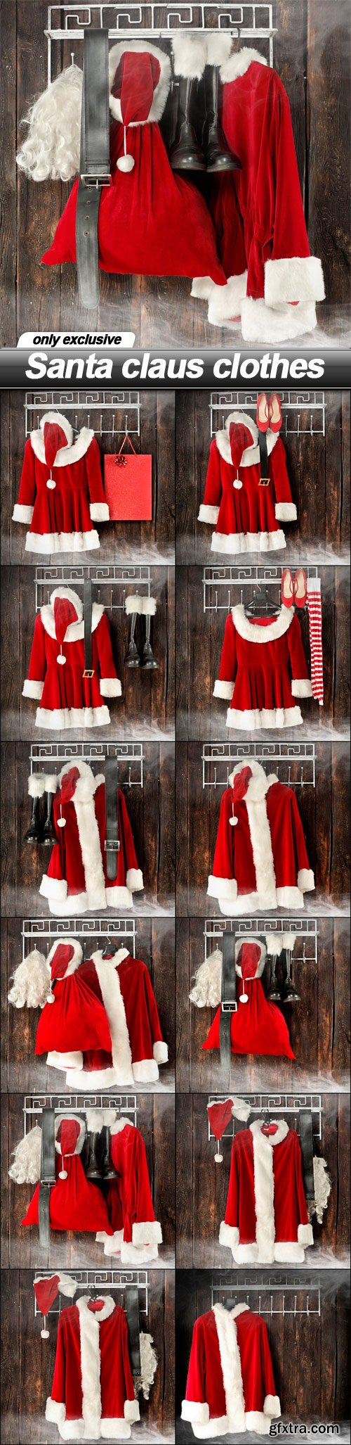 Santa claus clothes - 13 UHQ JPEG