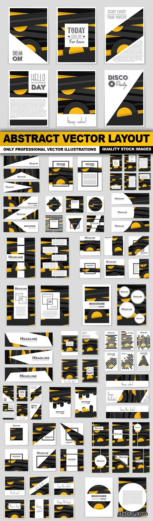 Abstract Vector Layout - 20 Vector