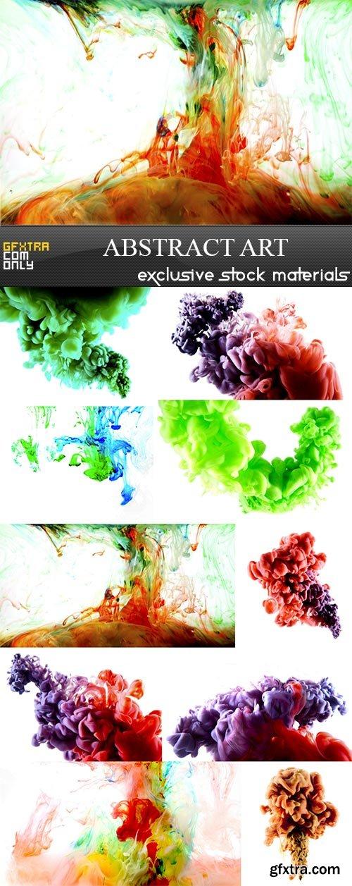 Abstract art, 10 x UHQ JPEG