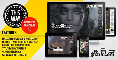 ThemeForest - This Way v1.7.5 - WP Full Video/Image Background with Audio - 943634