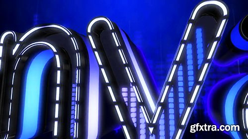 Videohive LED Audio React Equalizer Logo 17469448