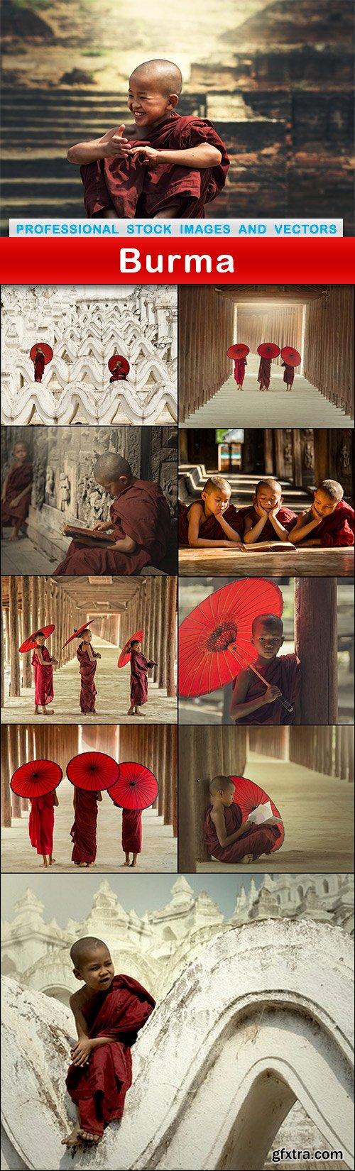 Burma - 10 UHQ JPEG