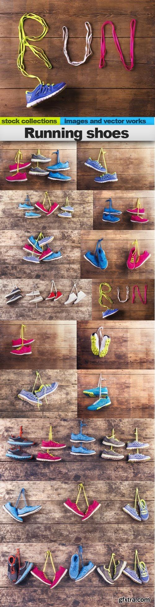 Running shoes, 15 x UHQ JPEG