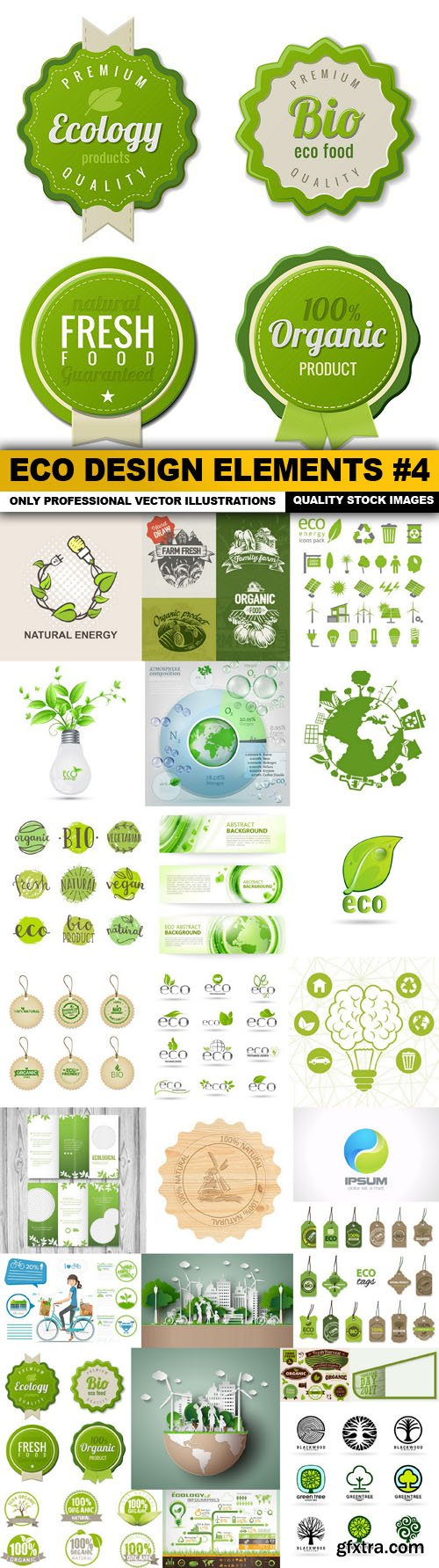 ECO Design Elements #4 - 25 Vector