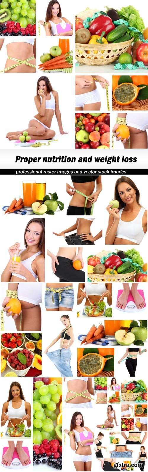 Proper nutrition and weight loss - 5 UHQ JPEG