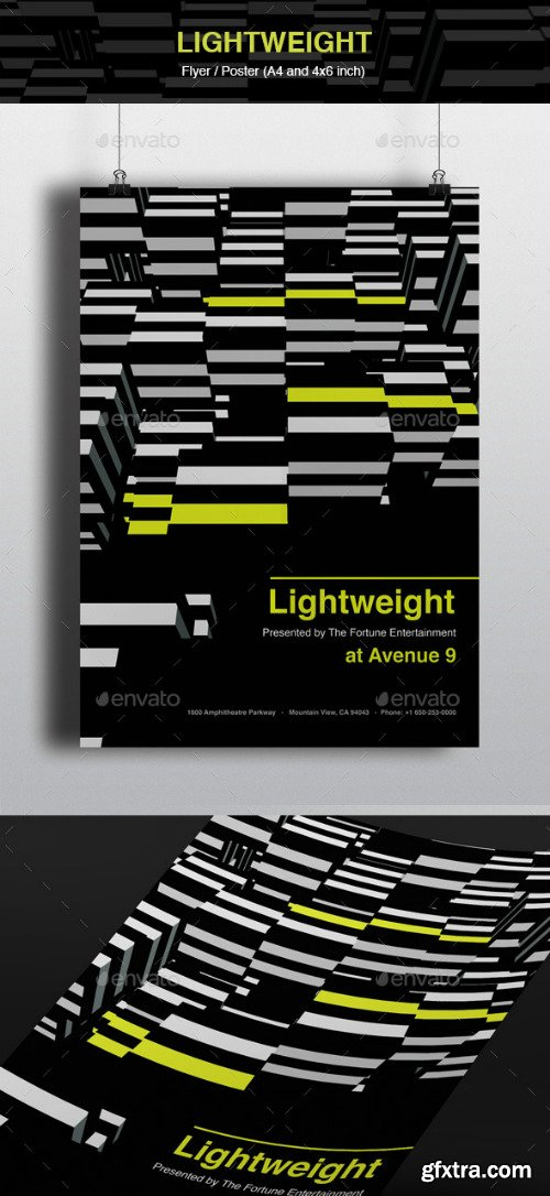 GR - Lightweight Flyer and Poster 10646939
