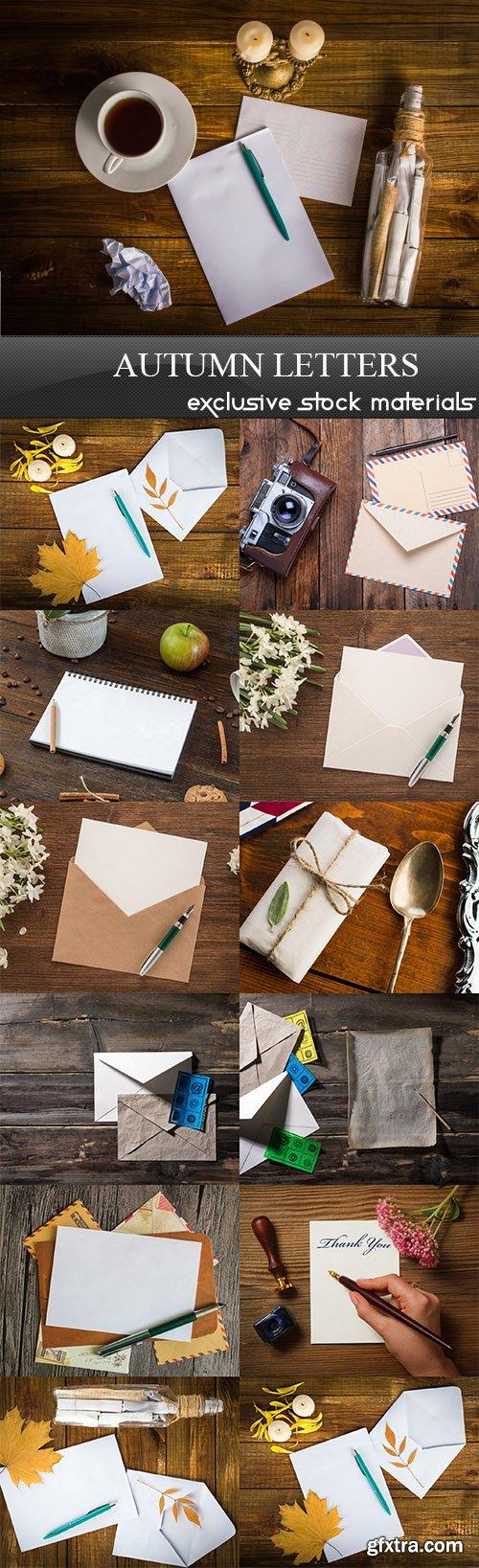 Autumn letters - 13 UHQ JPEG