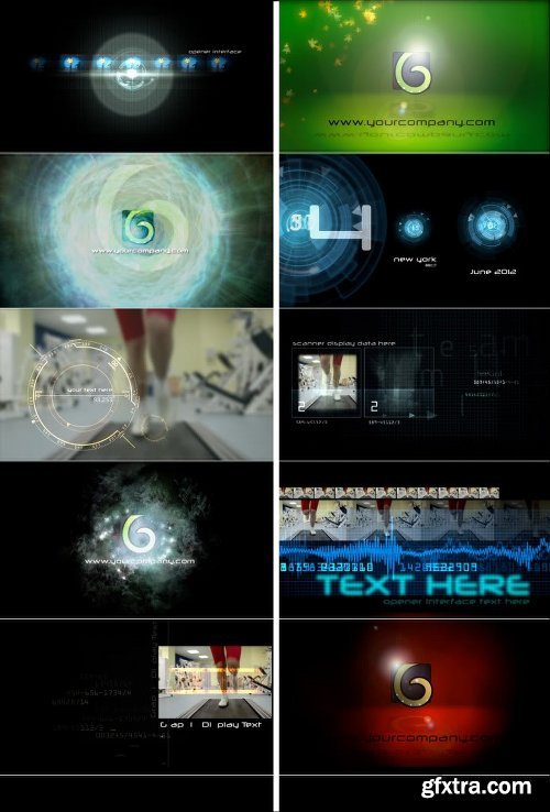 Videohive Motion Graphics Displays And Particles Bundle Pack 2478023