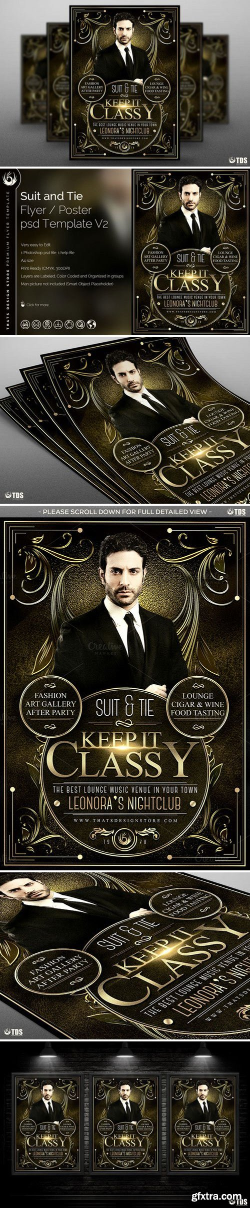CM - Suit and Tie Flyer Template V2 566254